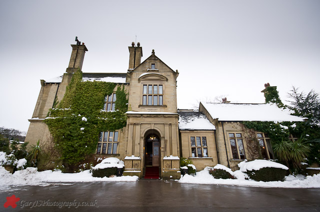 Bagden Hall in the Snow