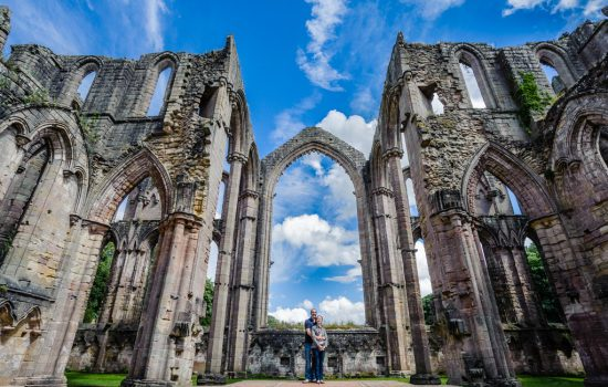 Pre Wedding Photography at Fountains Abbey – Ruth and Phil