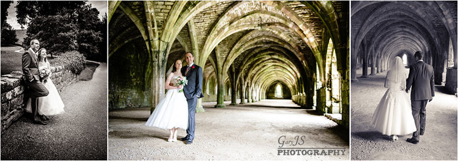 Fountains Abbey Wedding Photos