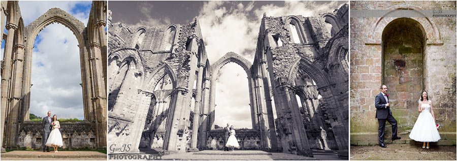 Fountains Abbey Wedding Photography