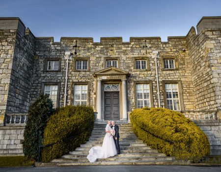 Hazlewood Castle Wedding Photography | Leanne and Jason