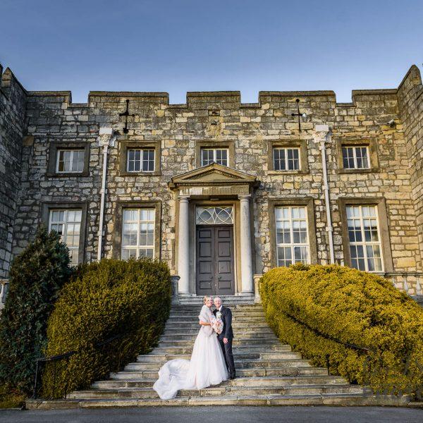 Hazlewood Castle Wedding Photography | Leanne and Jason