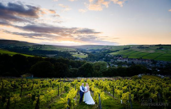 Michele and Paul | Holmfirth Vineyard Wedding Photographer