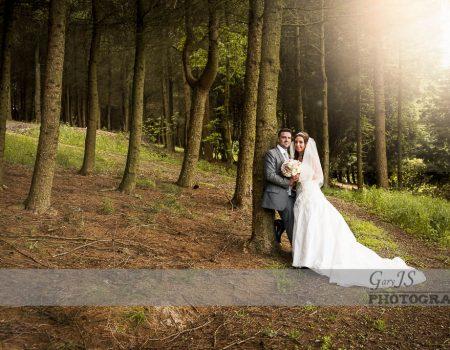The Saddleworth Hotel Wedding Photography | Holmbridge Church – Carl and Hayley