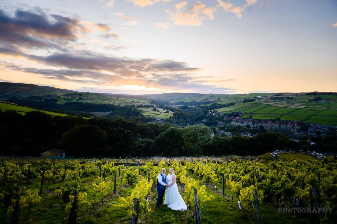 Michele and Paul   Holmfirth Vineyard Wedding Photographer
